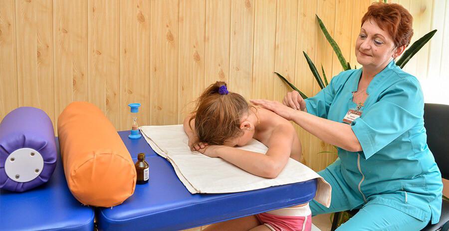 Детский оздоровительный массаж